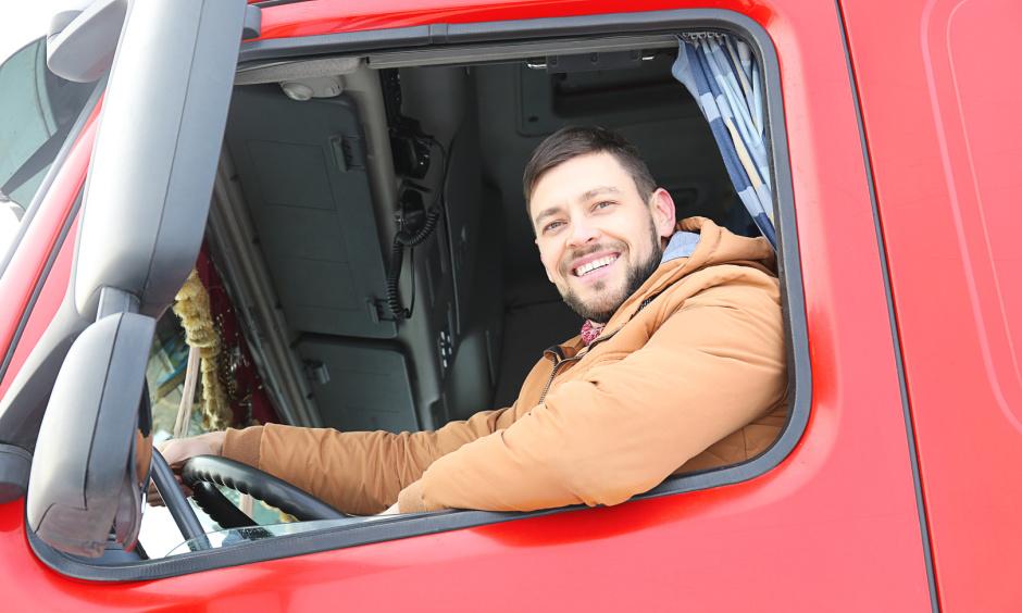 glücklicher LKW-Fahrer (Kraftfahrer), Verkehrsmedizin